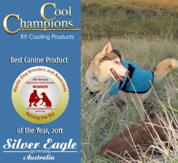 Awarded best canine product